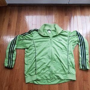 Green Adidas Dad Style Jacket
